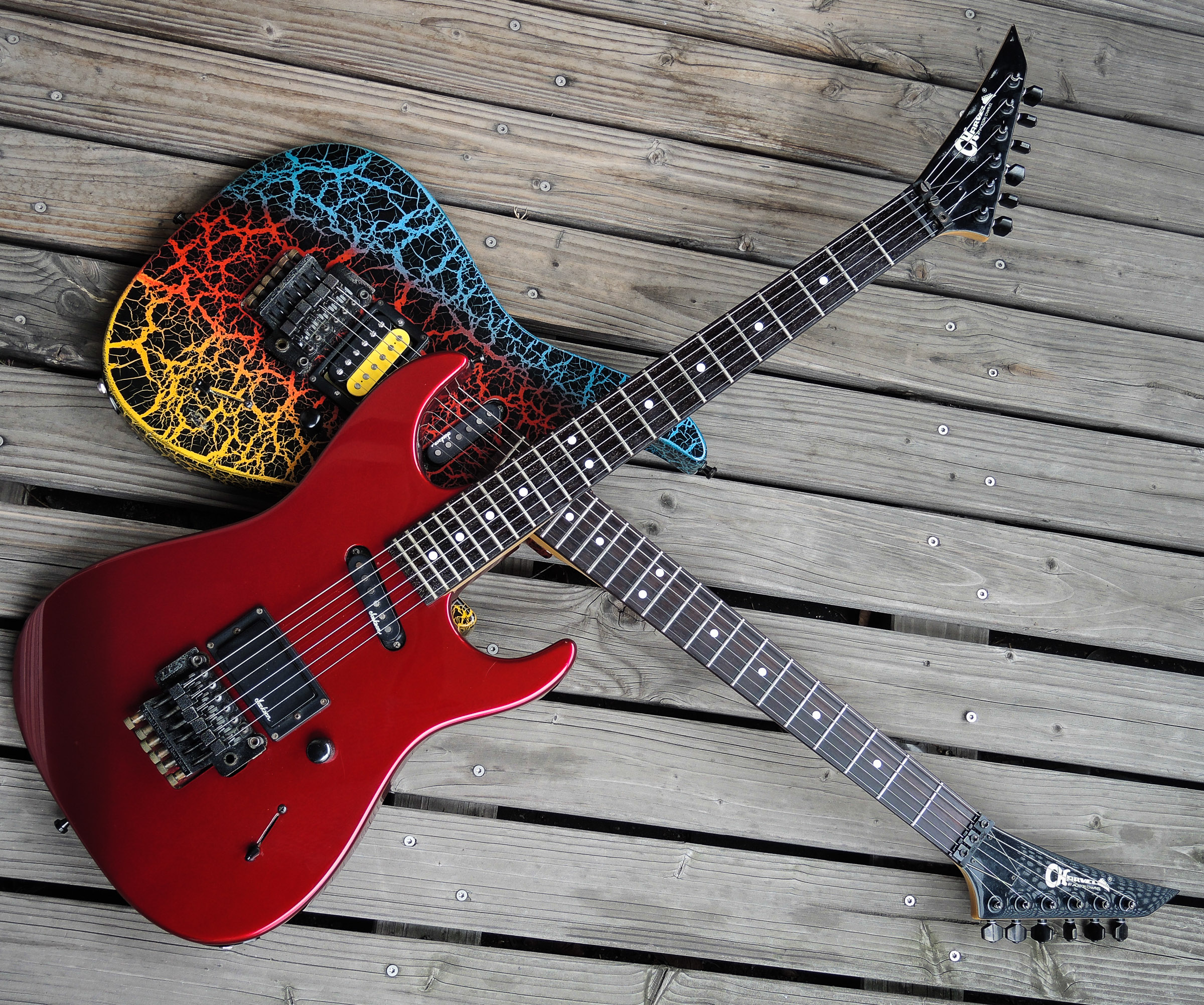 1980s Charvel Guitars