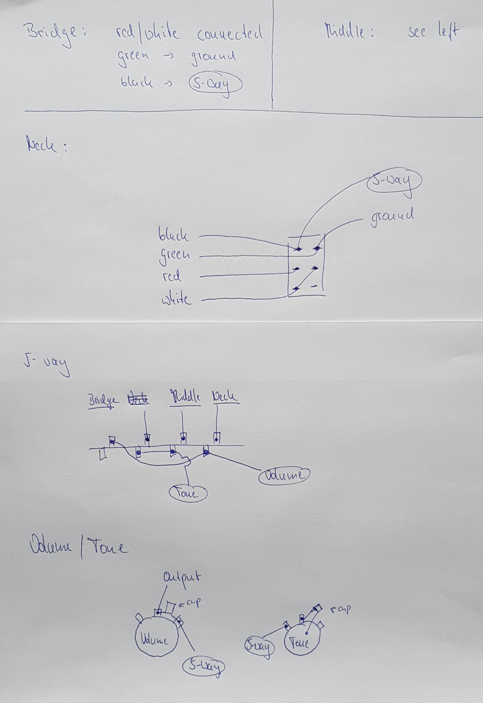 Gtr 037 Kramer Proaxe Deluxe Dingens2k Strat Wiring Diagram No Tone The Layout Does Correspond With How Controls Work Normal 5 Way Setup Control For Bridge Pickup And 3 Switch Only Neck